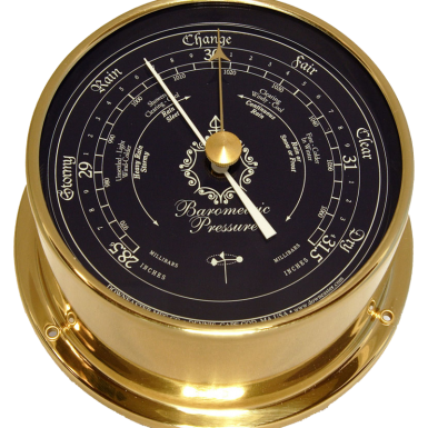 Downeaster Barometer, Blue