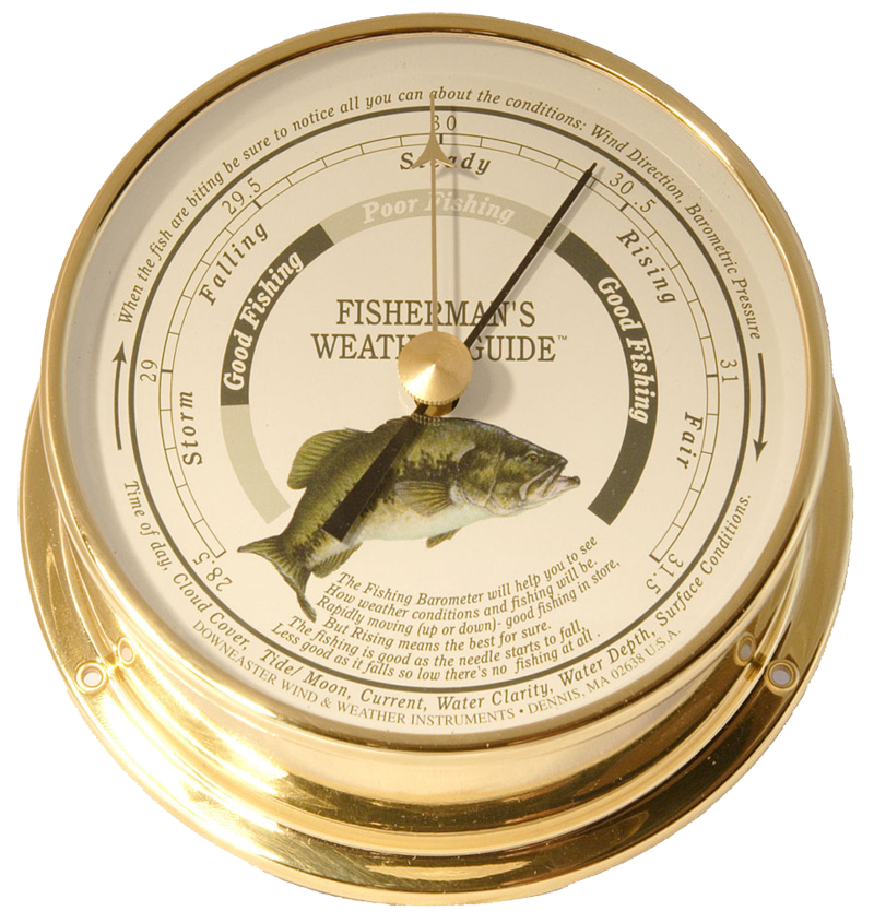 Weather instruments cape cod wind weather and for Barometer and fishing
